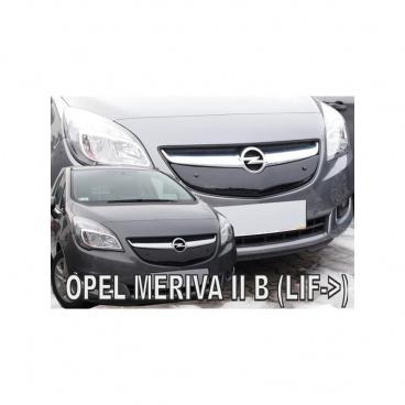 Zimní clona - kryt chladiče - Opel Meriva, po faceliftu, 2014-
