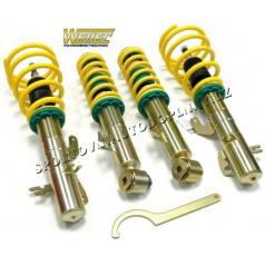 ST suspensions sportovní výškově stavitelný podvozek Nissan Almera (N16), rok výroby 07/2000+ rozsah snížení 30-55/30-55mm