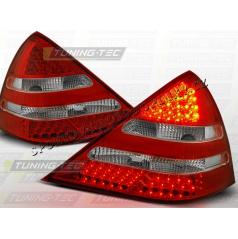 MERCEDES SLK R170 ZADNÍ LED LAMPY RED WHITE (LDME12)