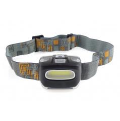 Svietidlo - čelovka LED COB Headlamp 3xAAA 150Flux IPX3