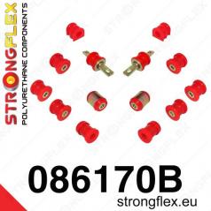Honda Integra 2001-06 StrongFlex sestava silentbloků jen pro zadní nápravu 14 ks