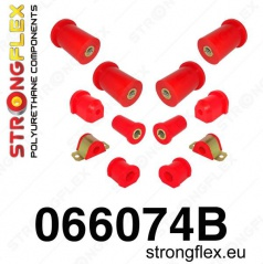 Fiat Seicento 1998-08 Strongflex kompletná zostava silentblokov 12 ks