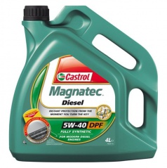 Motorový olej Castrol Magnatec 5W-40 Diesel B4 / DPF - 4 litre