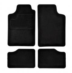 Autokoberce textilné čierne pre celé auto I