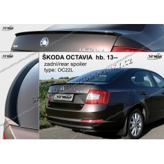 Zadný spoiler Škoda Octavia htb 2013+ (EÚ homologácia)