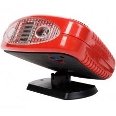 Ventilátor s ohrevom 12V + led osvetlenia