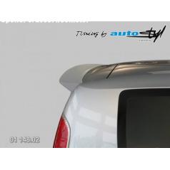 Škoda Roomster - spoiler 5. dverí Roomster - hladký pre lak