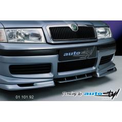 Škoda Octavia 2001 spoiler pod predný spoiler - pre lak