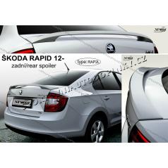 Škoda Rapid 2012- zadný spoiler (EÚ homologácia)