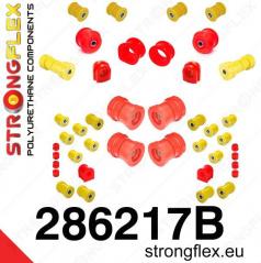 Nissan Skyline R33 StrongFlex kompletní sestava silentbloků 38 ks