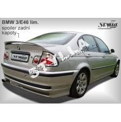 BMW 3, E46 Sedan 98+ zadné krídlo (EÚ homologácia)