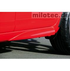 Zadné rozšírenie prahov, ABS-čierny, Škoda Fabia II