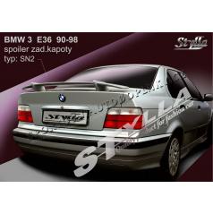 BMW 3 / E36 SEdan 90-98 spoiler zadnej kapoty (EÚ homologácia)