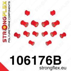 Mazda RX8 StrongFlex sestava silentbloků jen pro zadní nápravu 14 ks