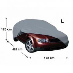 Plachta na auto III - veľkosť L 471 x 173 x 116 cm