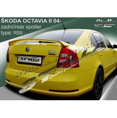 Škoda Octavia II htb 04+ spoiler zadnej kapoty RS II (EÚ homologácia)