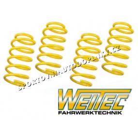 Sportovní pružiny ST suspensions ''Made by KW'' pro VW Polo (6KV) sedan 1.4, 1.6, r.v. 10/99-08/01, od modelu 2000, snížení 40/40mm