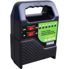 Nabíjačka autobatérií-6-12V 8A-led indikácia-prenosná