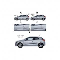 Boční ochranné lišty dveří Hyundai ix35