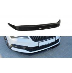 Spoiler pod predný nárazník Ver.1 pre Škoda Superb Mk3, Maxton Design (plast ABS bez povrchovej úpravy)