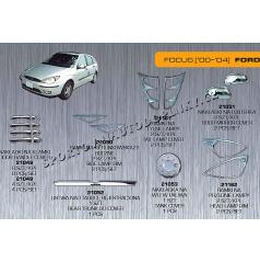 Ford Focus 00-04 chróm autodoplnky