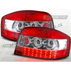 AUDI A3 2003-08 zadné LED lampy RED WHITE (LDAU15)