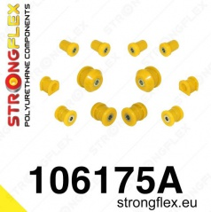 Mazda RX8 StrongFlex Sport sestava silentbloků jen pro přední nápravu 12 ks