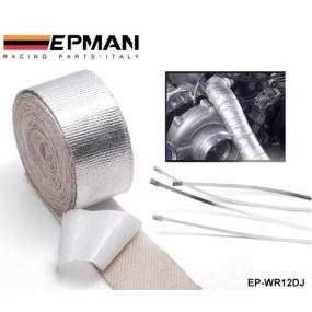 Lepící thermopáska s hliníkovou vrstvou Epman 5 cm X 100 cm