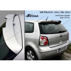 VW Polo 9N 3D/5D 2001+ zadní spoiler (EU homologace)