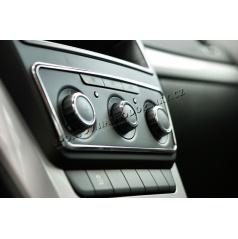 Chrómový rámik panela rádia KI-R Škoda Yeti