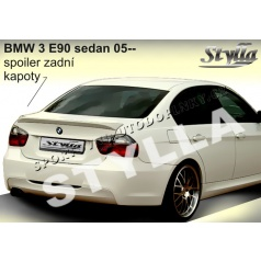 BMW 3, E90 Sedan 05+ spoiler zadnej kapoty