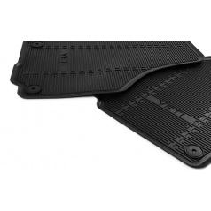 Gumové koberce pre Škoda Yeti vrátane faceliftu