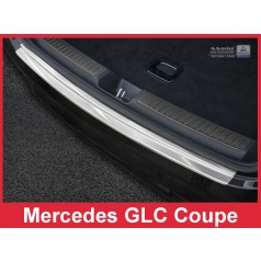 Nerez kryt-ochrana prahu zadního nárazníku Mercedes GLC Coupe 2016-17