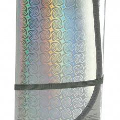 Slnečná clona reflexná 3-vrstvová L 145x70 cm pod predné sklo