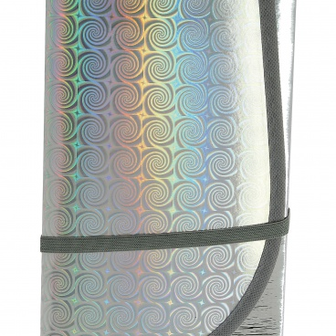 Protisluněční clona reflexní 3-vrstvá L pod přední sklo