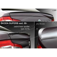 Škoda Superb II sedan 2008- zadný spoiler (EÚ homologácia)
