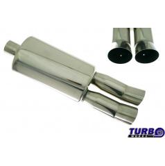Športový výfuk TurboWorks dual (63 mm vstup)