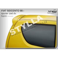 Fiat Seicento (98+) spoiler zadných dverí horný