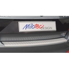 Prah piatych dverí s výstupky, ABS-strieborný, Škoda Octavia III, Limousine 02/2013 +