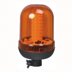 Maják oranžový 12/24V 100LED s objímkou E8CE