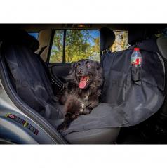 Ochranná deka pre psa medzi sedadlá Profi 145x147 cm čierna