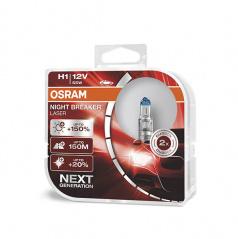 Žárovka Osram Night Breaker Laser NG H1 +150% 12V/55W (sada 2 ks)