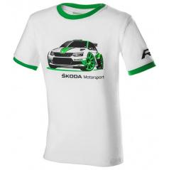 Originální dětské tričko Škoda Motorsport