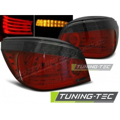 BMW E60 07.2003-07 zadné lampy red smoke LED (LDBMA1)