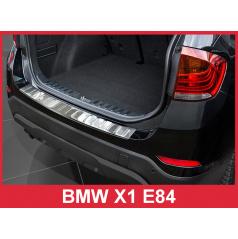 Nerez kryt- ochrana prahu zadného nárazníka BMW X1 E84 2012-15