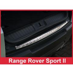 Nerez kryt-ochrana prahu zadního nárazníku Land Rover Sport II L494 2013-16
