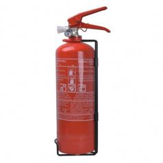 Klasický práškový hasiaci prístroj s manometrom 2 kg