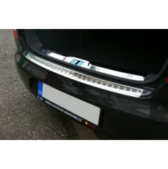 Škoda Superb II Limousine - nerez chróm ochranný prah zadného nárazníka KI-R