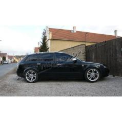 Audi A4 8E 01-08 - NEREZ chróm kryty kľučiek OMSA LINE