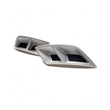 Spoilery zadního difuzoru / atrapy výfuku Turbo design - Škoda Kodiaq